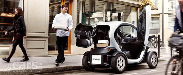 Photo Renault Twizy Cargo