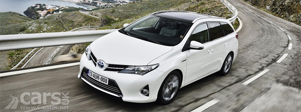 Toyota Auris Touring Sports on road photo