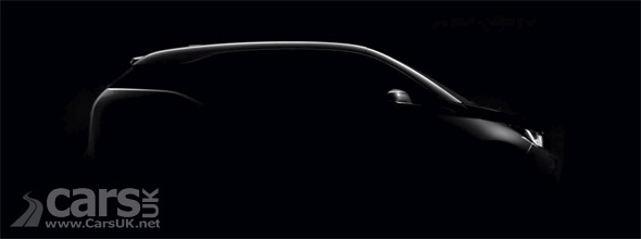Tease photo of BMW i3 EV