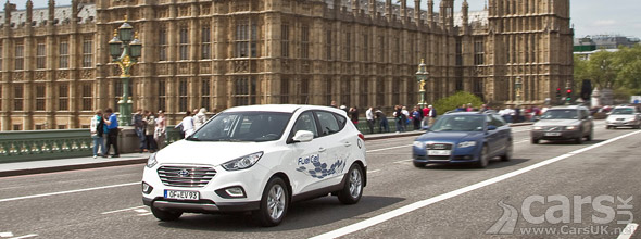 Photo Hyundai ix35 FCEV London