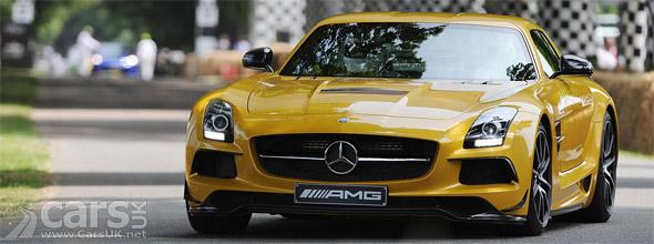 Photo Mercedes SLS AMG Black Series Goodwood