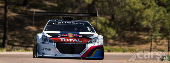 Photo of Sebastian Loeb's Peugeot 208 T16