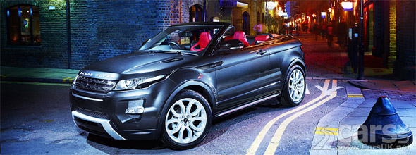 Photo Range Rover Evoque Convertible