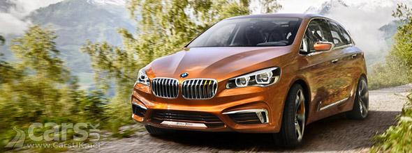 Photo BMW Concept Active Tourer Outdoor