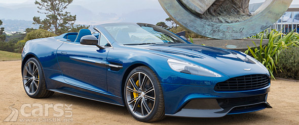 Photo Aston Martin Vanquish Volante Pebble