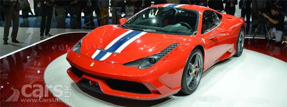 Photo Ferrari 458 Speciale Frankfurt 2013