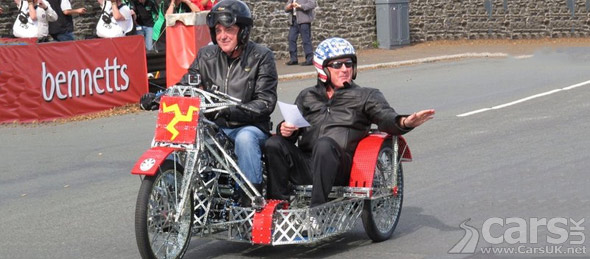 James May Does Isle Of Man Tt Run In Electric Motor Bike border=