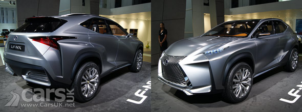 Photo Lexus LF-NX Concept Frankfurt