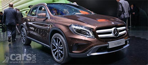 Photo Mercedes GLA SUV Frankfurt