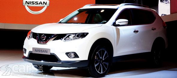 The All new Nissan X-Trail for 2014 (pictured) revealed at Frankfurt
