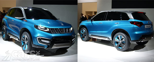 Photo Suzuki iV-4 Concept revealed