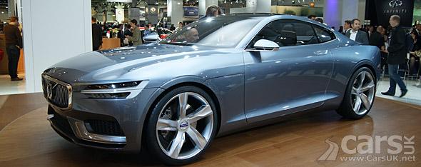 Photo Volvo Concept Coupe Frankfurt