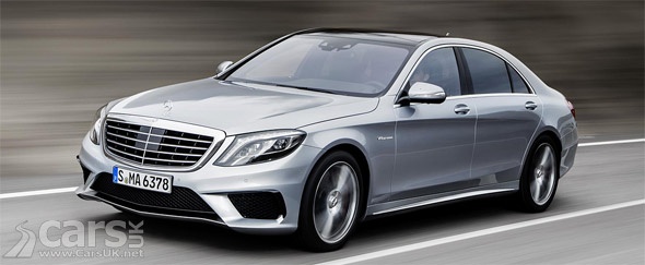 Photo new Mercedes S 63 AMG
