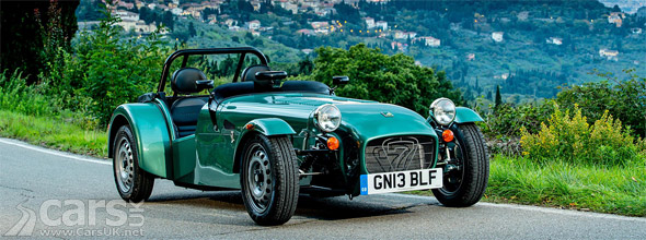 Photo Caterham Seven 160 launches as a back to basics Seven