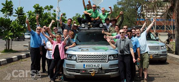 Photo Range Rover Hybrid in India