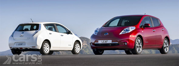 Photo Nissan LEAF EVs