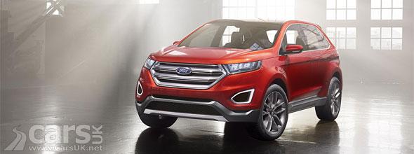 Photo new Ford Edge Concept