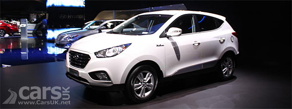 Photo Hyundai Tucson Hydrogen FCEV