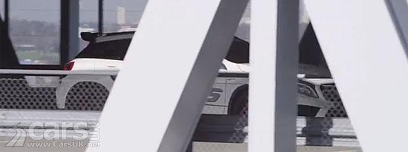 Photo Mercedes GLA 45 AMG Concept tease