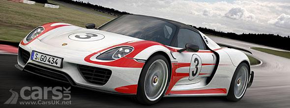 Photos Porsche 918 Spyder with Weissach Package