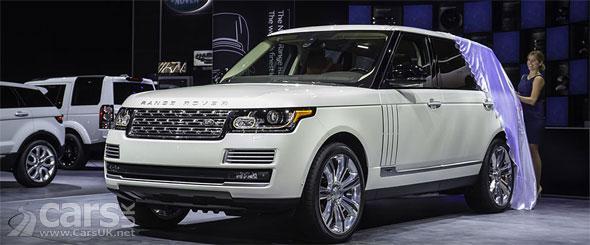 Photo The Range Rover Long Wheelbase Autobiography Black LA
