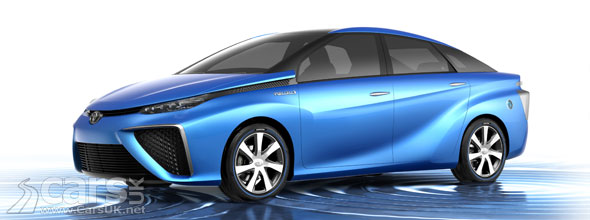 Hydrogen-powered Toyota FCV Concept revealed