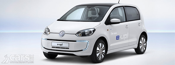 Photo VW e-up! electric city car costs £24,250