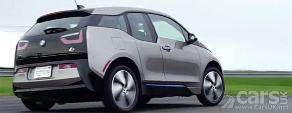 Photo BMW i3 on track