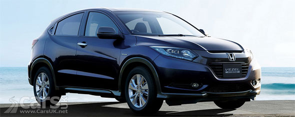 honda vezel compact suv goes on sale in japan cars uk. Black Bedroom Furniture Sets. Home Design Ideas