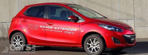 Photo Mazda2 RE Range Extender