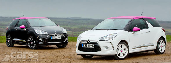 Photo Citroen DS3 DStyle Pink & DSport Pink special editions
