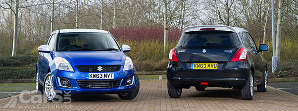 Photo 2014 Suzuki Swift SZ-L Special Edition