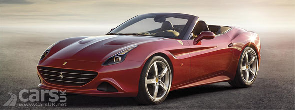 The new California T (pictured) revealed ahead of a Geneva debut