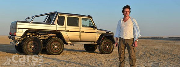 Photo Richard Hammond Mercedes G 63 AMG 6x6