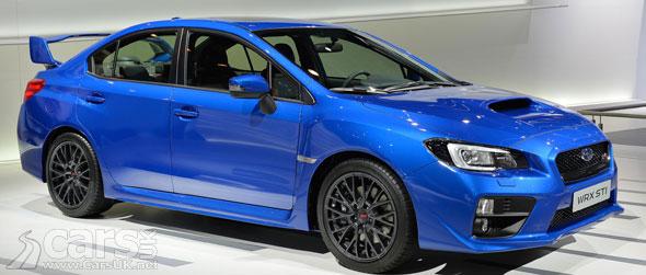 Photo New Subaru WRX STI Geneva