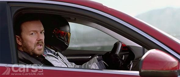 Photo Ricky Gervais Audi A3