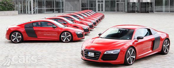 Photo Audi R8 e-Tron