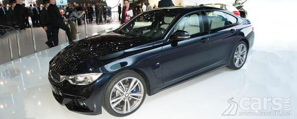 Photo BMW 4 Series Gran Coupe Geneva