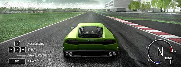 lamborghini huracan driving simulator goes live on lamborghini 39 s site cars uk. Black Bedroom Furniture Sets. Home Design Ideas
