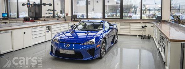 Photo Inside the Lexus LFA Centre of Excellence