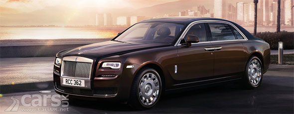 Photo Rolls Royce Ghost Series II