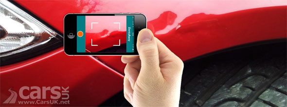 Photo Chips Away's new APP removes dents in cars