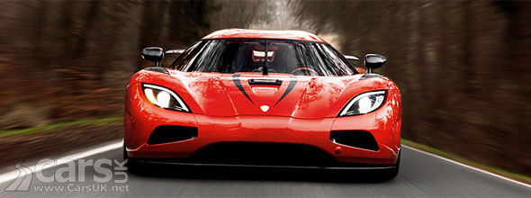 Photo entry-level Koenigsegg