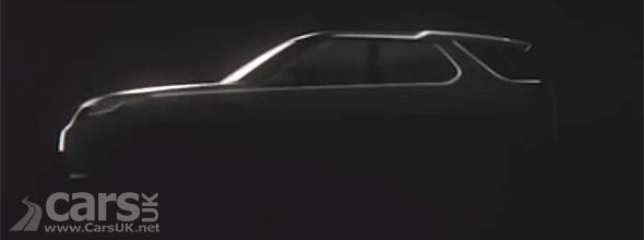 Photo New Land Rover Discovery Vision Concept tease