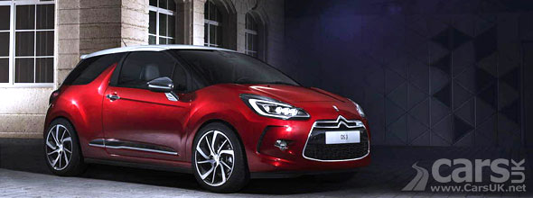 Citroen DS3 and DS3 Cabrio 'Facelift' revealed