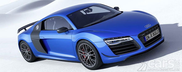 Photo Audi R8 LMX Laser Lights