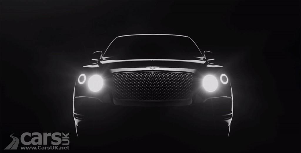 Photo New Bentley SUV teased on video