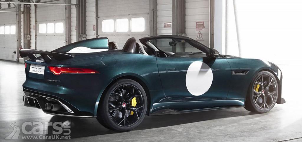 Photo Jaguar F-Type Project 7 Production
