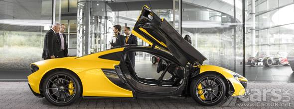 Photo McLaren P1
