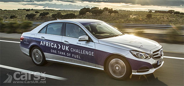 Photo Mercedes E300 Hybrid - Africa to Goodwood on a tank of fuel